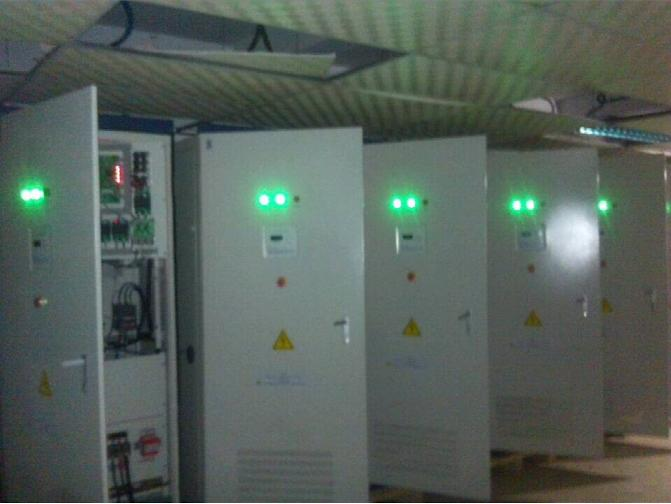 Bangladesh customers 1MW wind off-grid inverter project