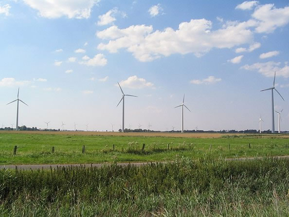 Germany 100KW wind power grid project